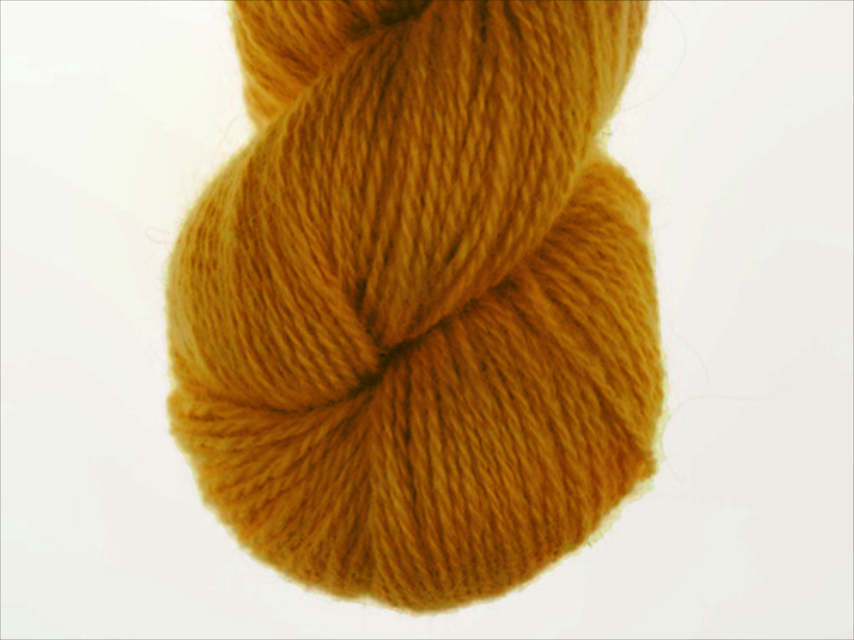Bohus Stickning garn yarn BS 243 yellow-brown