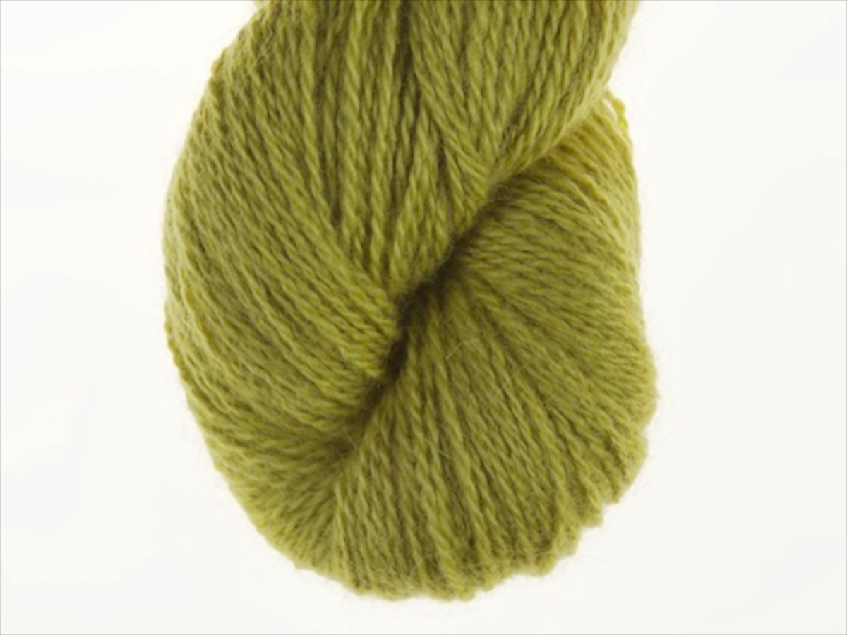 Bohus Stickning garn yarn BS 42 yellow-green