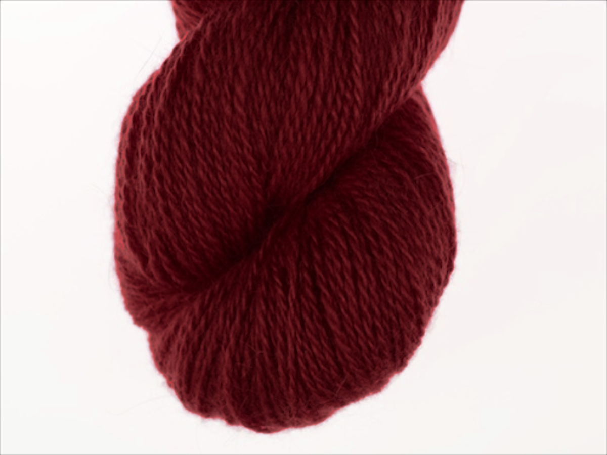 Bohus Stickning garn yarn BS 89 dark red