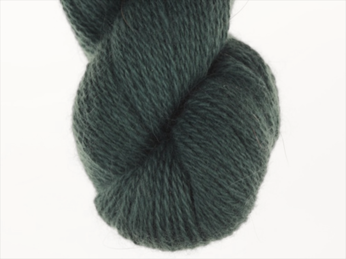 Bohus Stickning garn yarn BS 258 dark blue-green main color