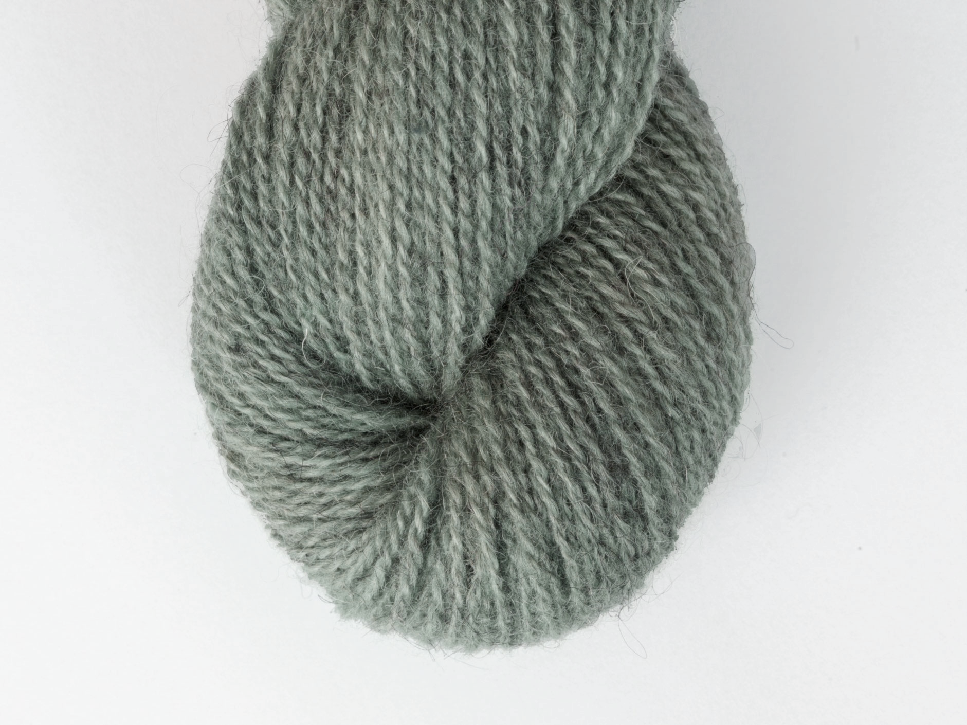 Bohus Stickning garn yarn BS 114 wool gray-green