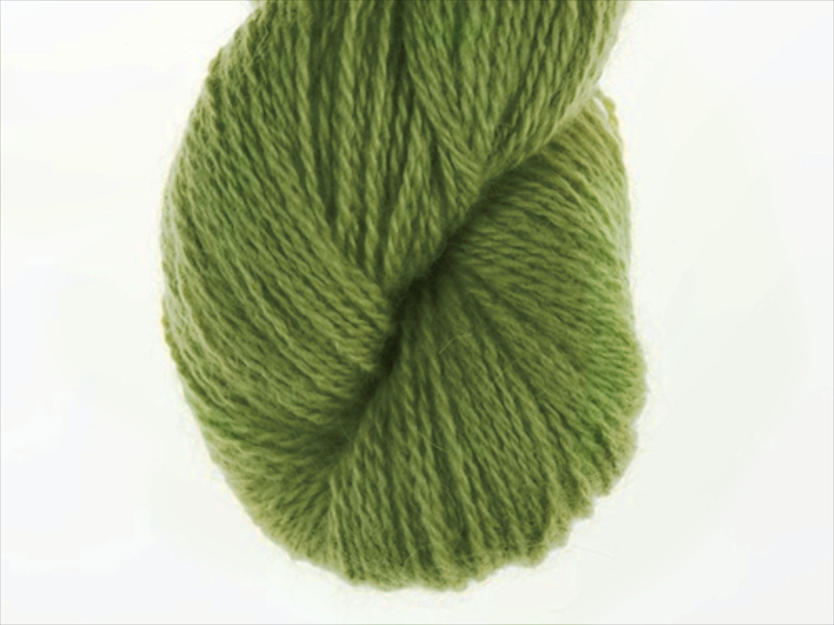 Bohus Stickning garn yarn BS 102 yellow-green