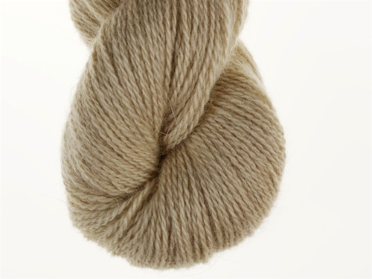 Bohus Stickning garn yarn BS 117 beige-brown