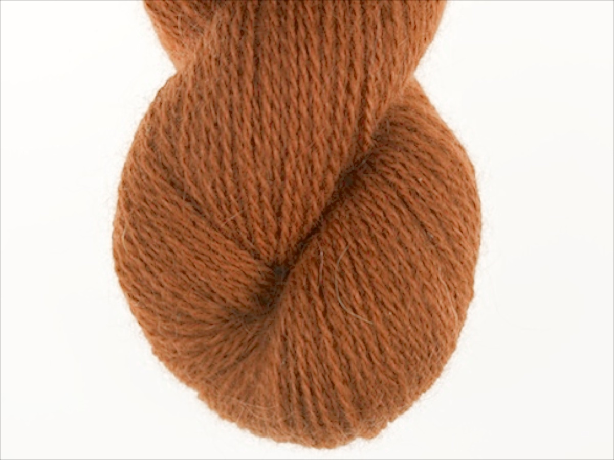 Bohus Stickning garn yarn BS 73 orange brown