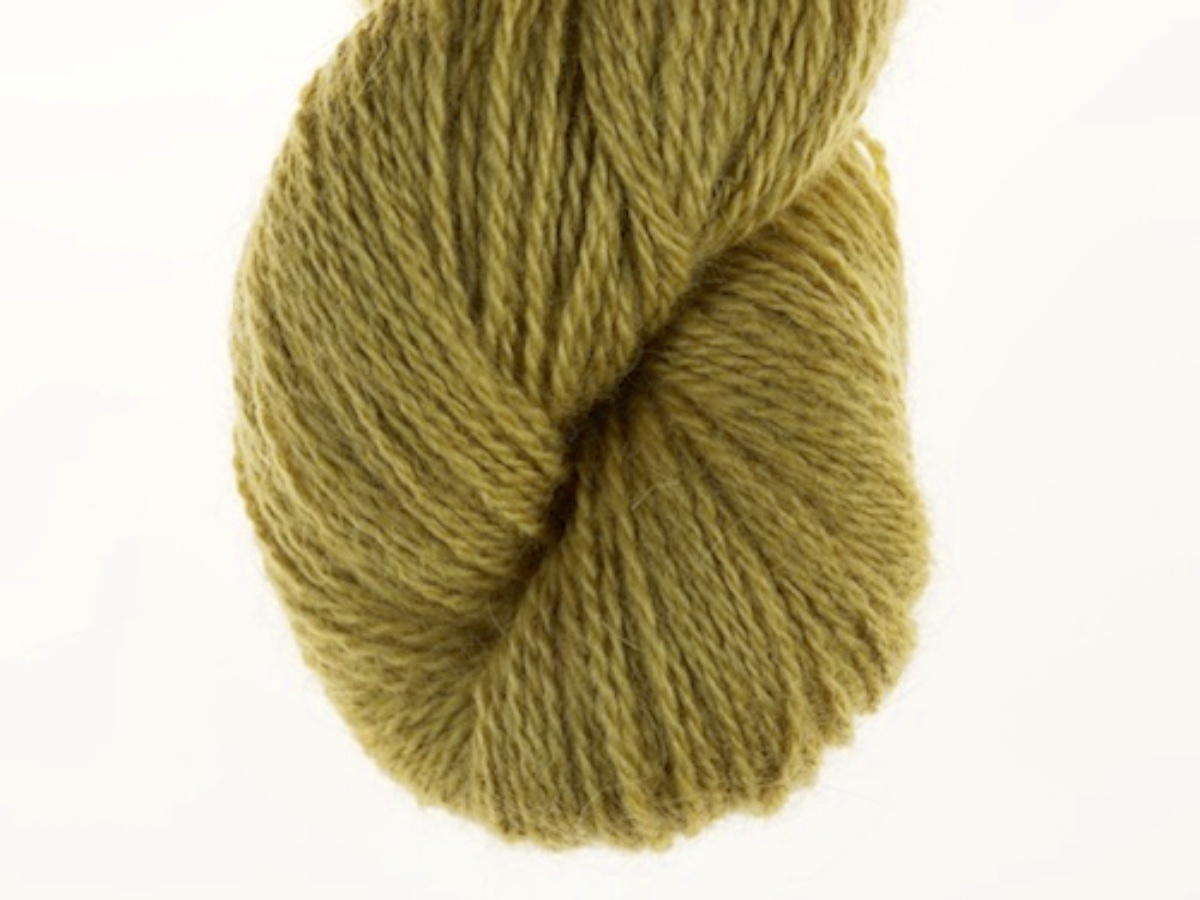 Bohus Stickning garn yarn BS 41 wool yellow-green