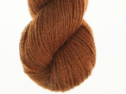 Bohus Stickning garn yarn BS 74 golden brown