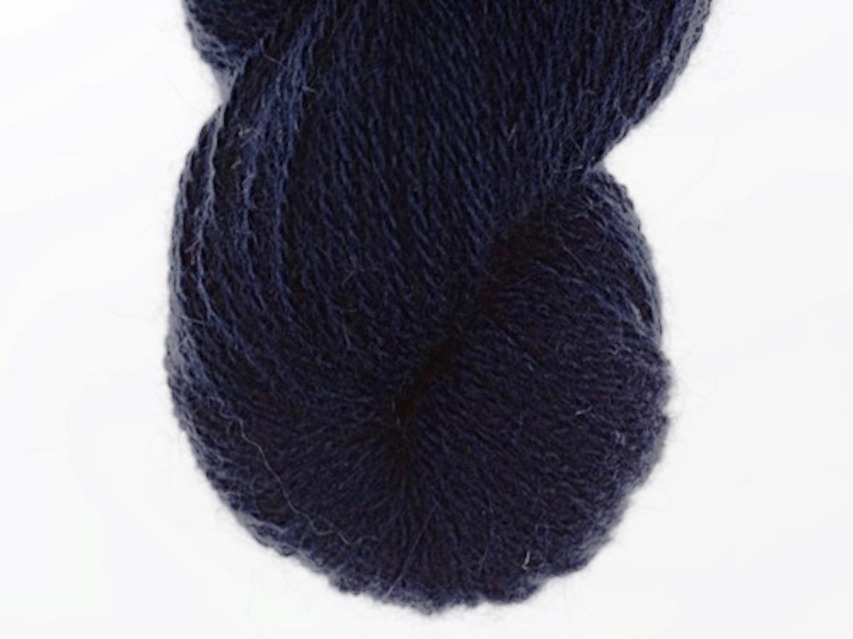 Bohus Stickning garn yarn BS 61 wool blue main color