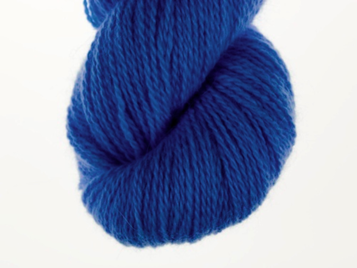 Bohus Stickning garn yarn BS 55 wool blue