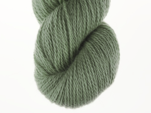 Bohus Stickning garn yarn BS 297 yelllow-gray-green