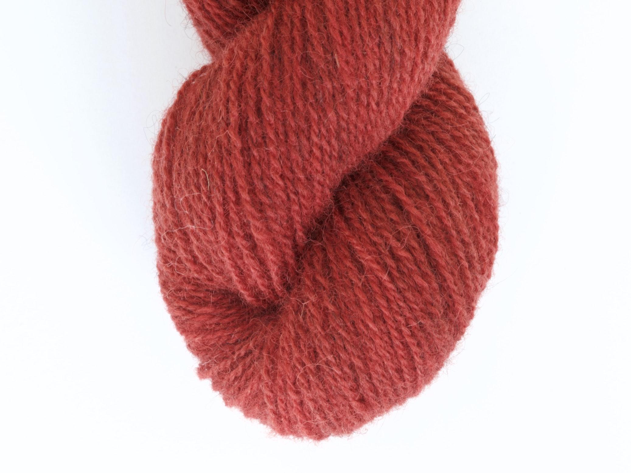 Bohus Stickning garn yarn BS 57 red wool