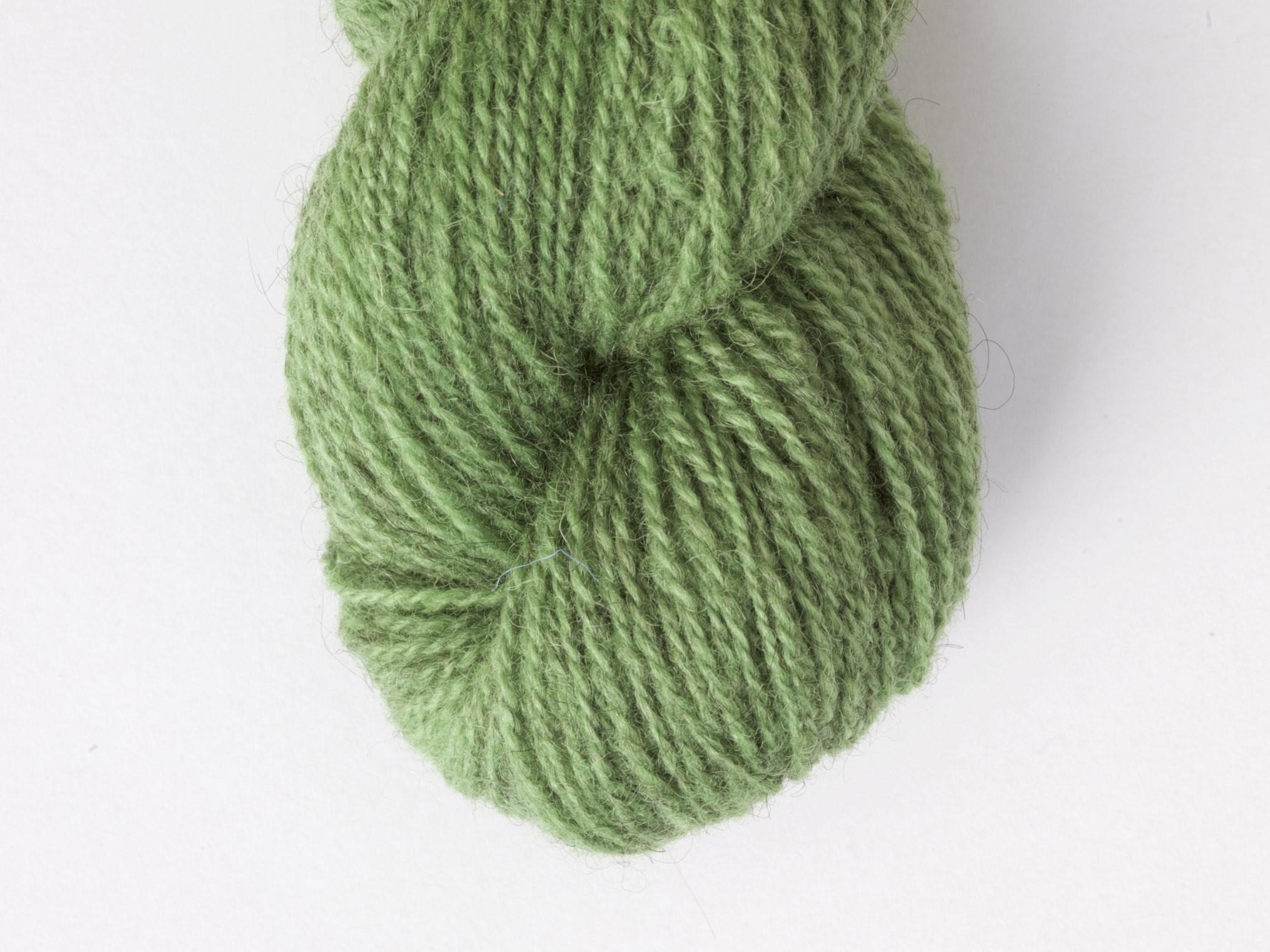 Bohus Stickning garn yarn BS 43 green wool