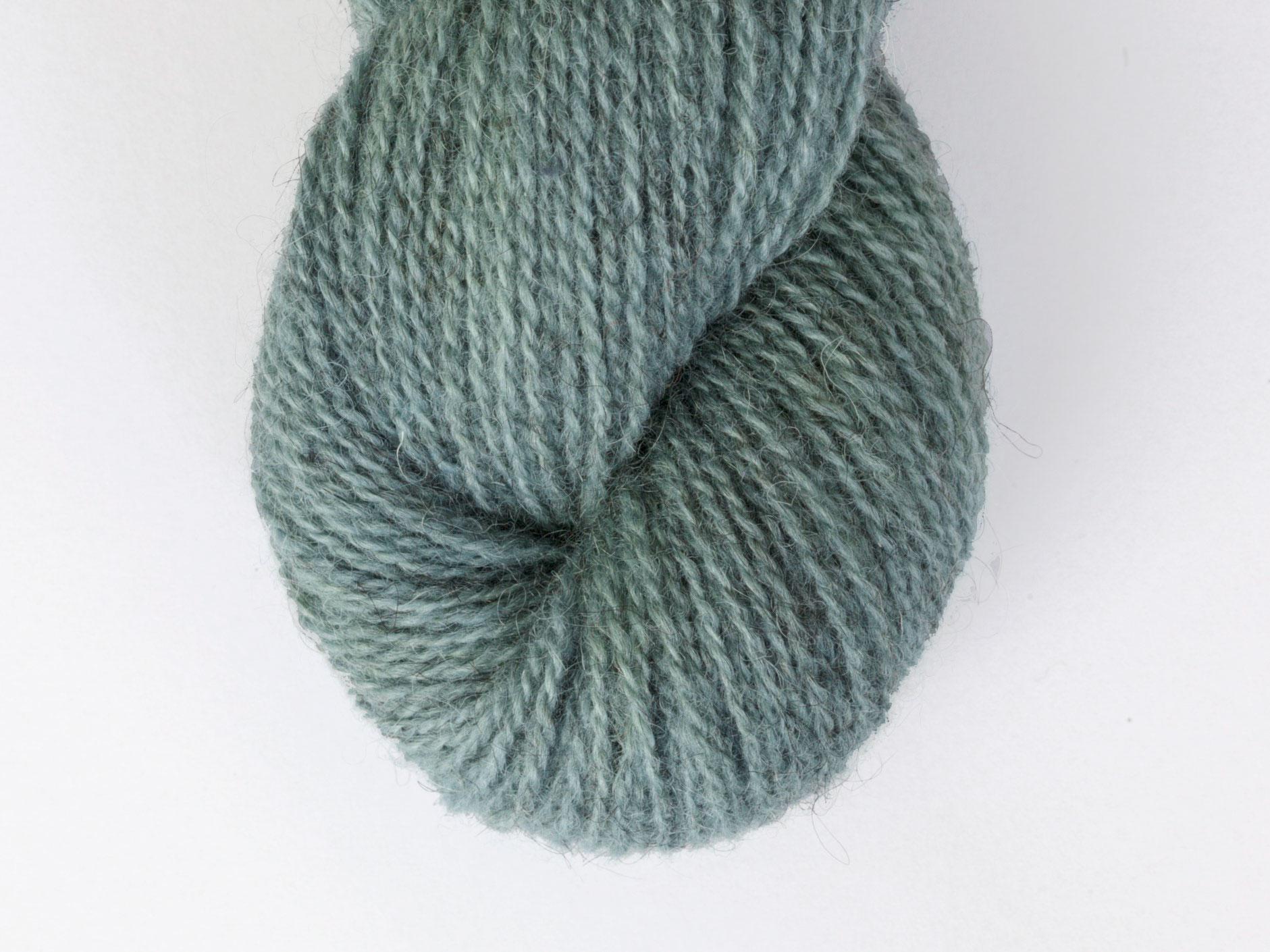 Bohus Stickning garn yarn BS 68 turquoise wool
