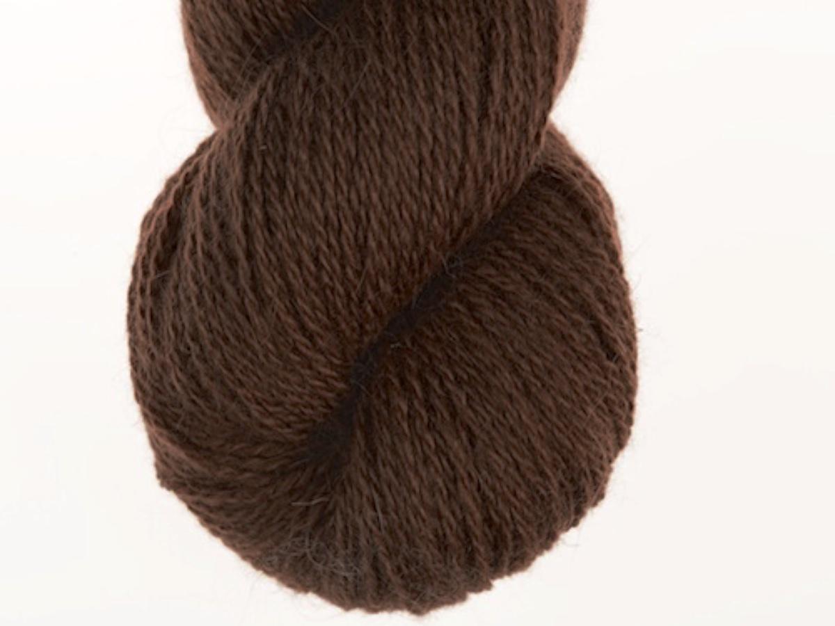 Bohus Stickning garn yarn BS 19 dark brown wool