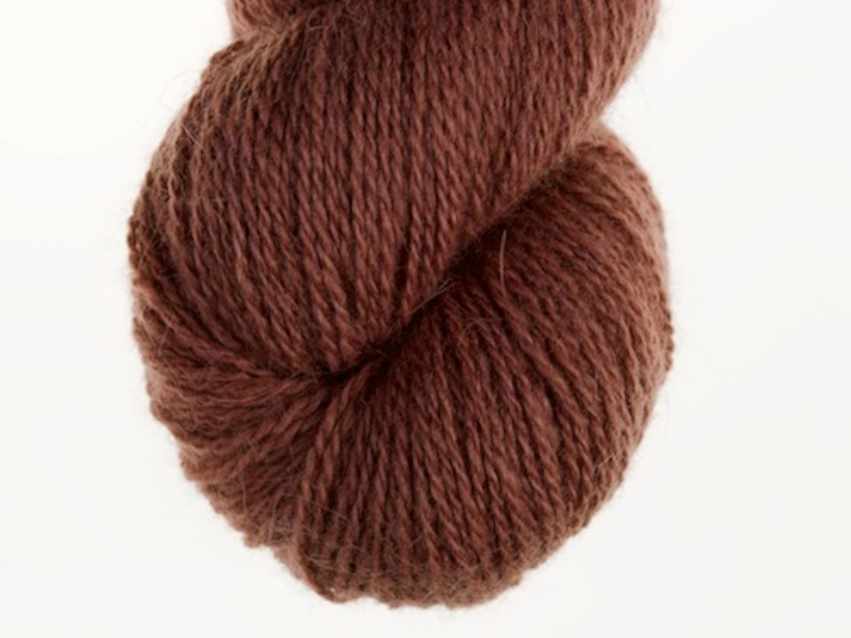 Bohus Stickning garn yarn BS 23 brown wool