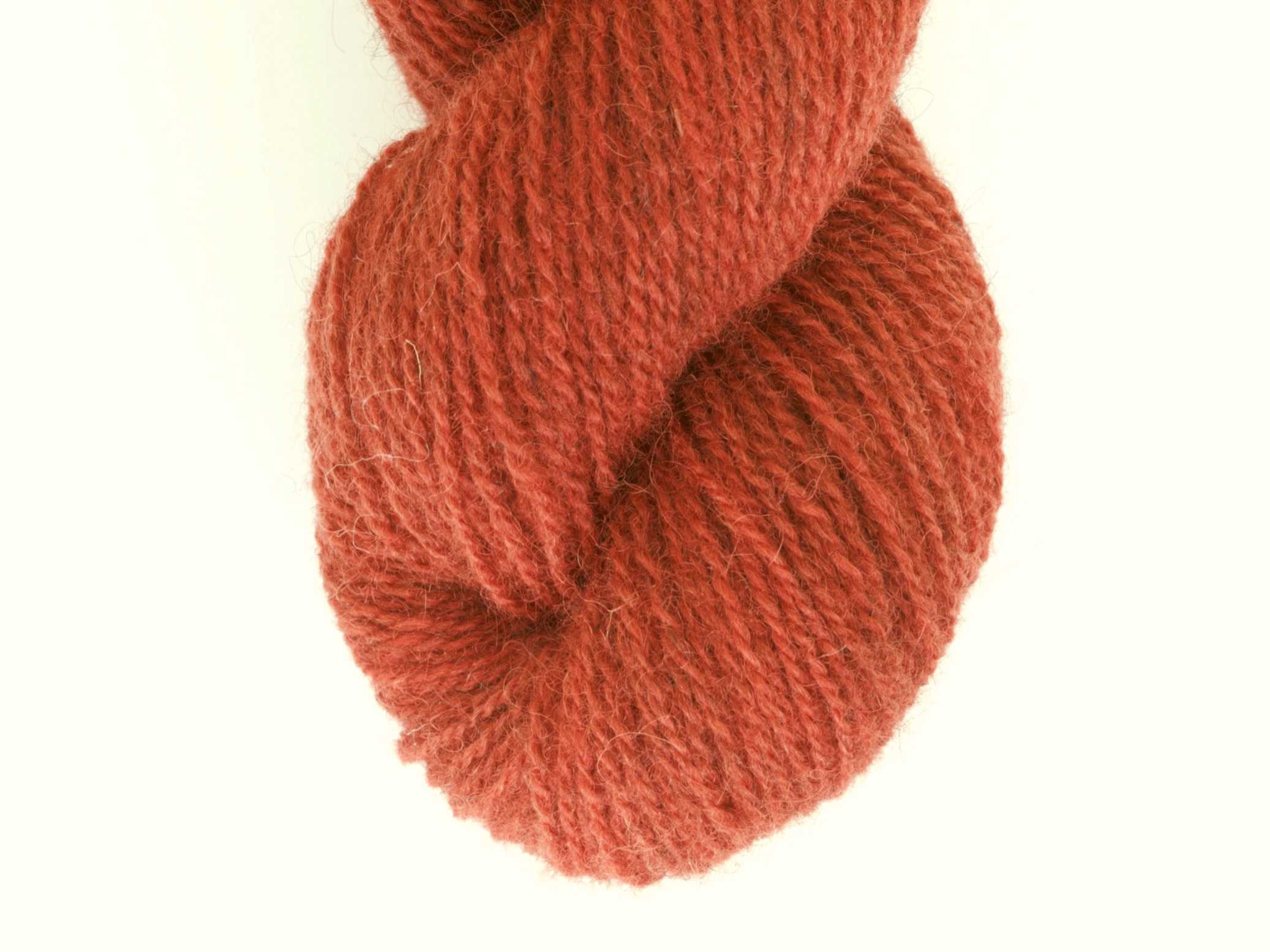 Bohus Stickning garn yarn BS 35 orange wool