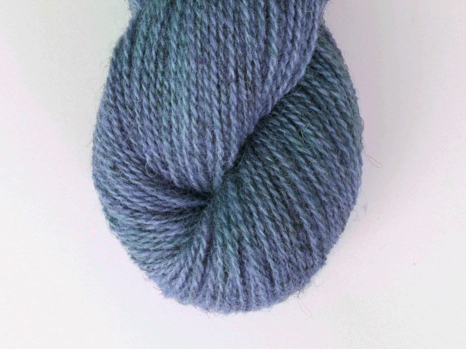 Bohus Stickning garn yarn BS 53 blue wool