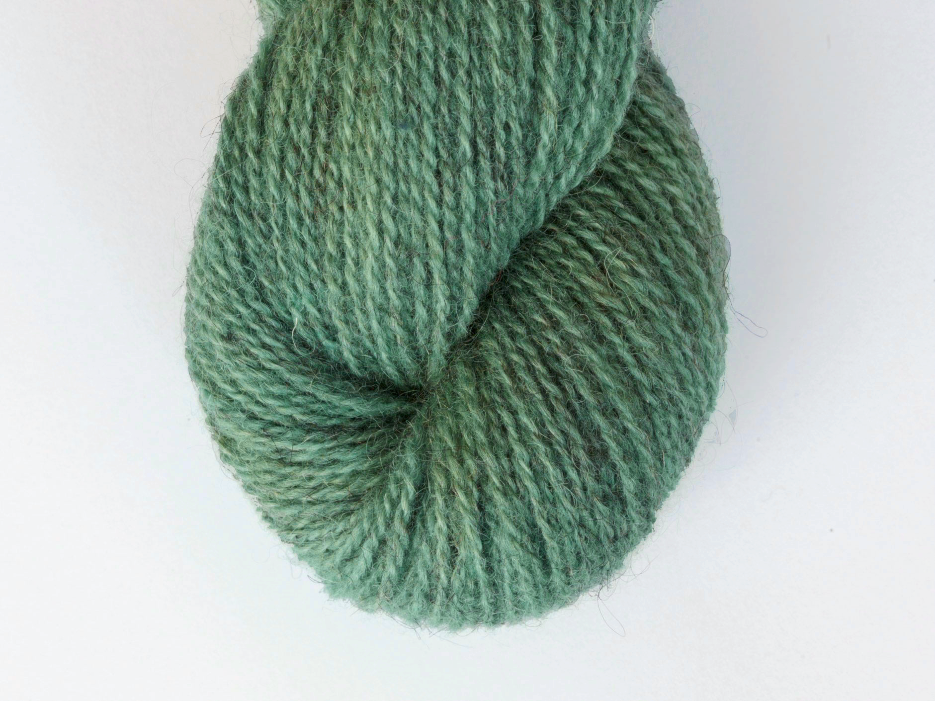 Bohus Stickning garn yarn BS 31 green wool