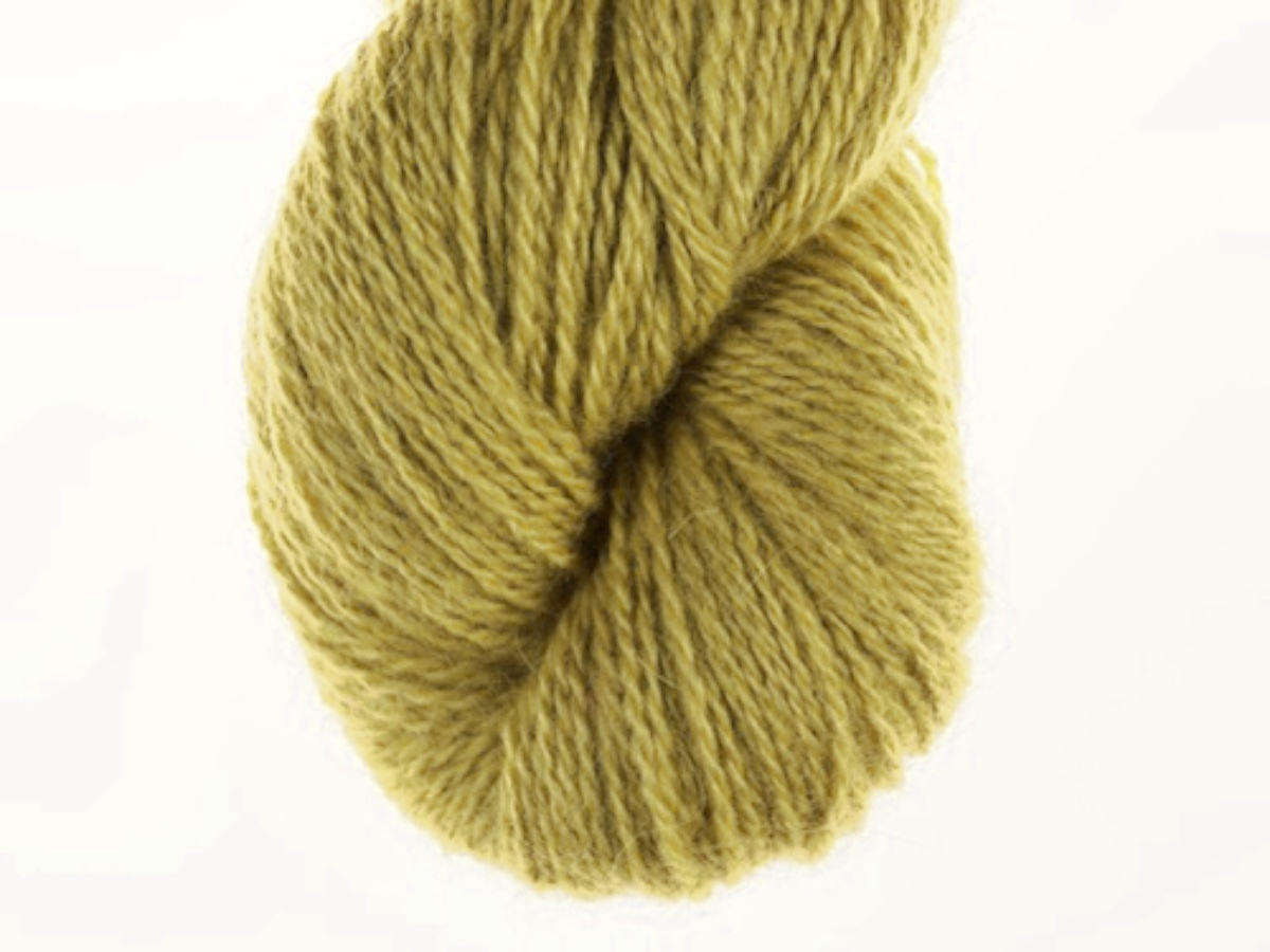 Bohus Stickning garn yarn BS 46 yellow lambswool