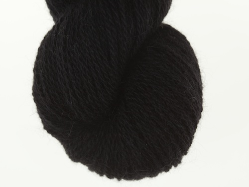 Bohus Stickning garn yarn BS 200 black main color