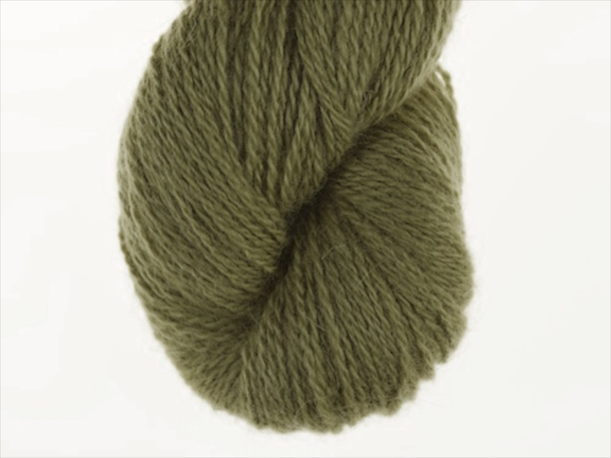 Bohus Stickning garn yarn BS 151 olive green