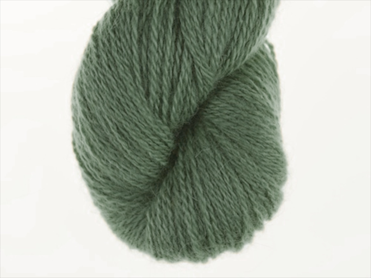 Bohus Stickning garn yarn BS 186 darker gray green