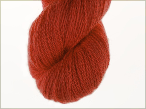 Bohus Stickning garn yarn BS 37 orange red