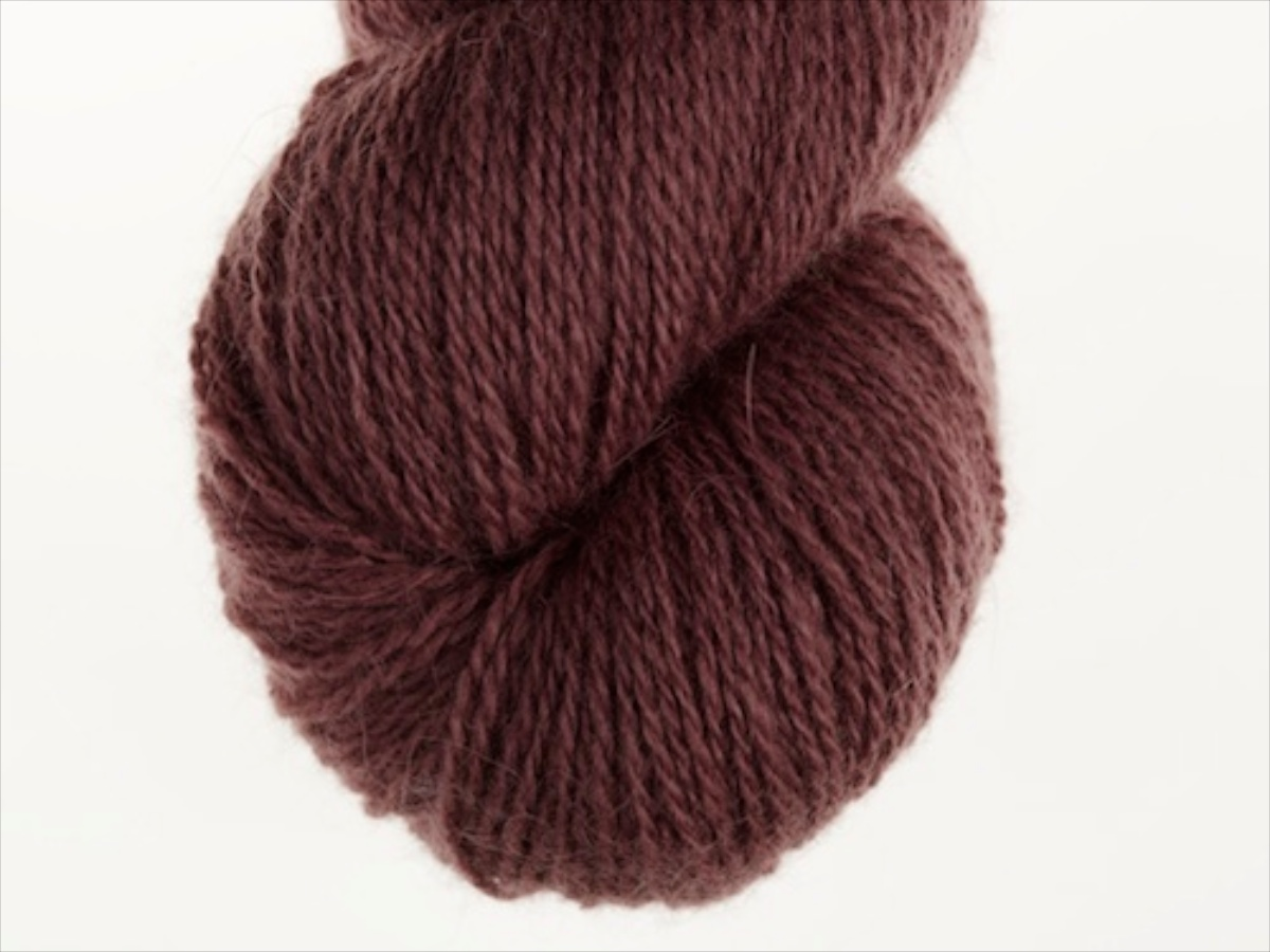 Bohus Stickning garn yarn BS 85 dark purple red