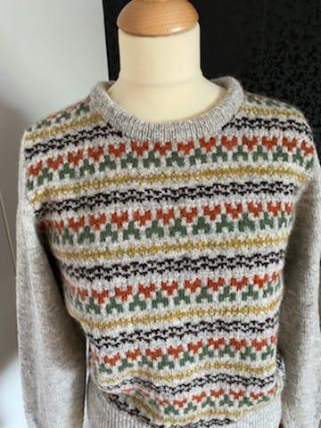 Bohus Stickning Stigbygeln pullover cardigan kit