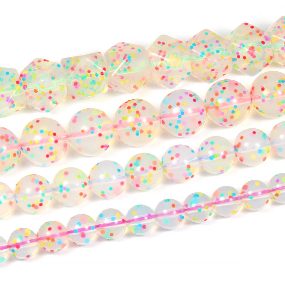 silikonpärlor konfettipärlor
