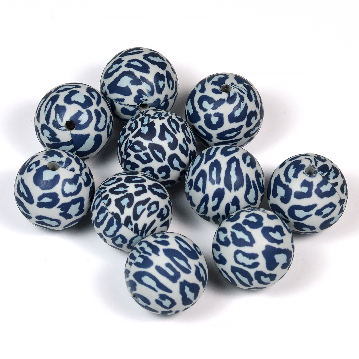 leopard silikonpärlor