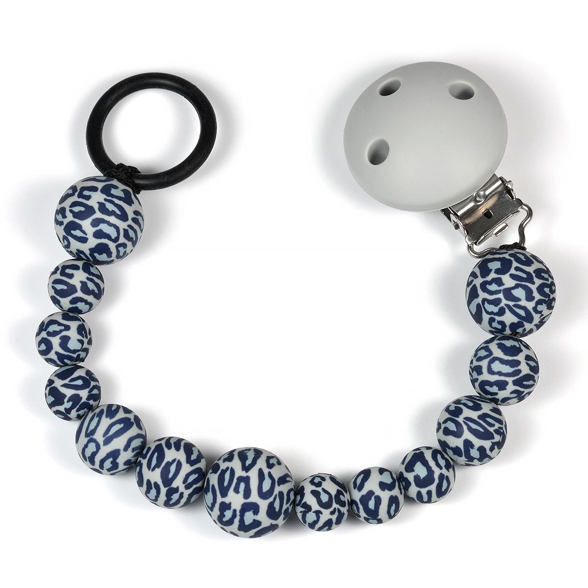 napphållare leopard pärlor