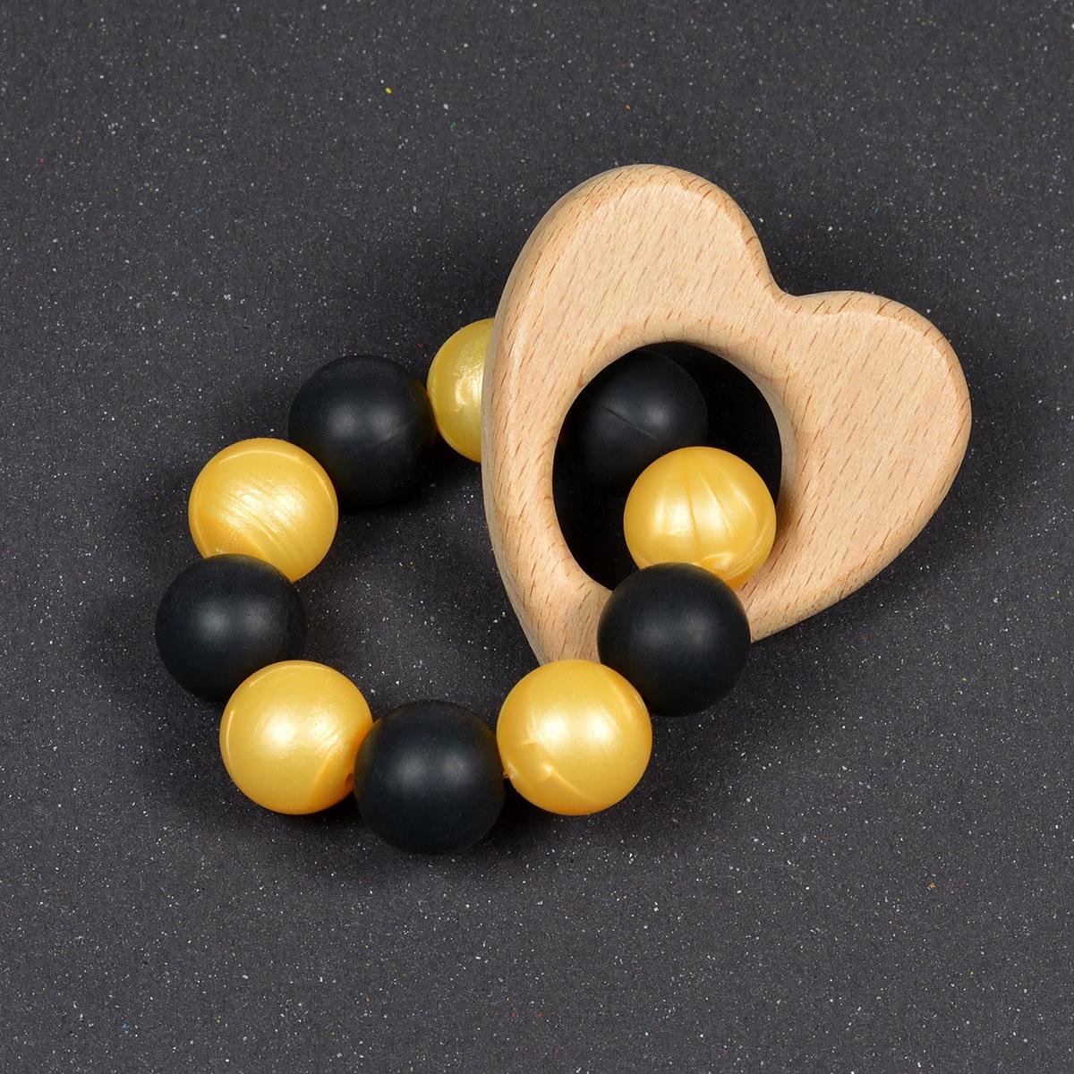 silikonpärlor guld pärlemor