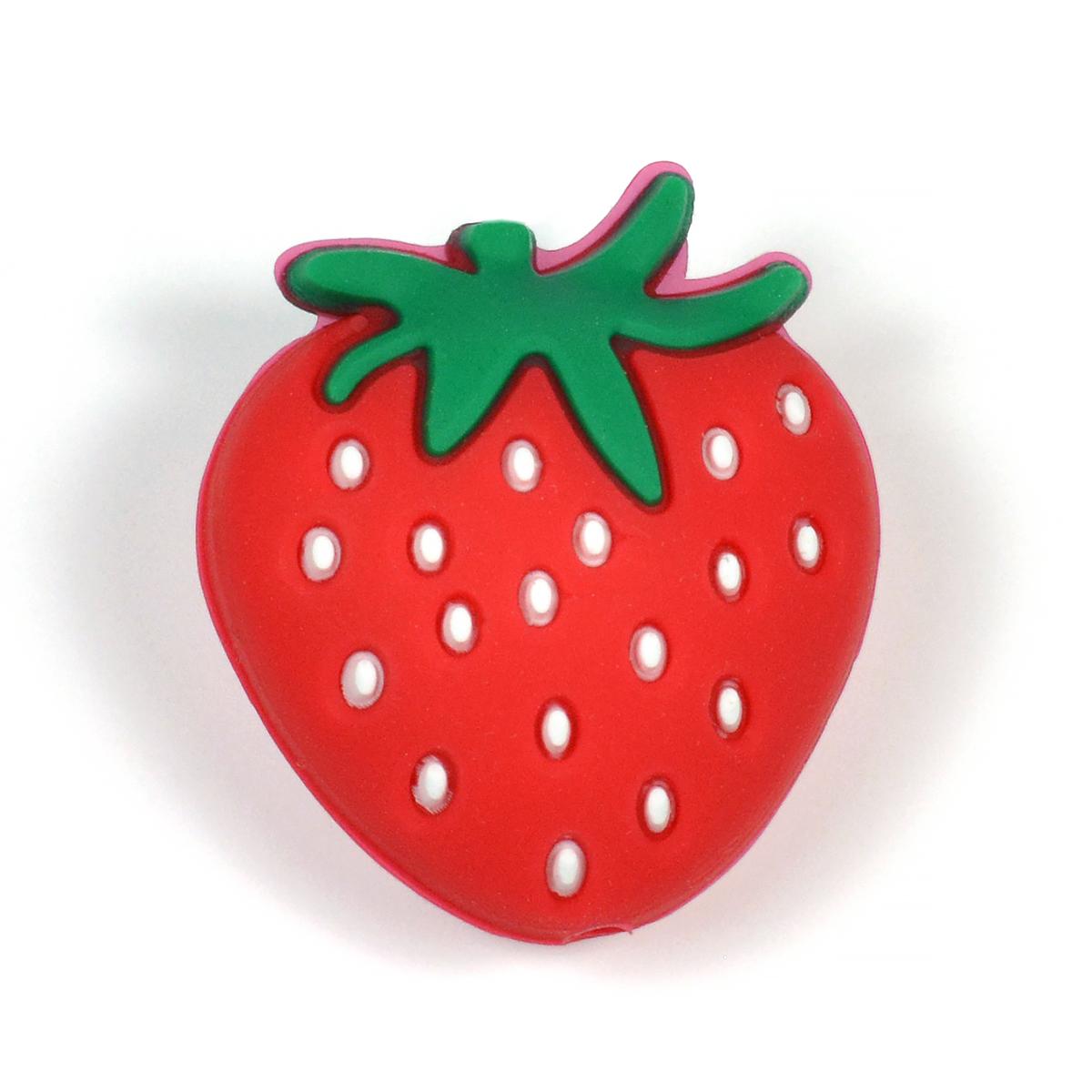 silikonpärla jordgubbe