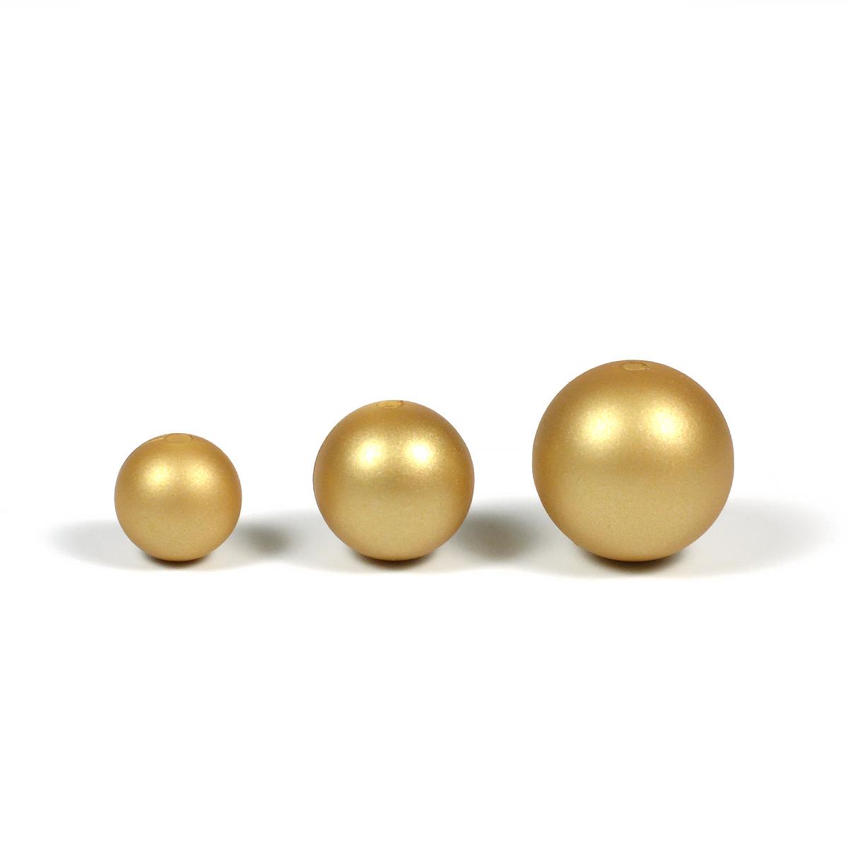 silikonpärlor guld
