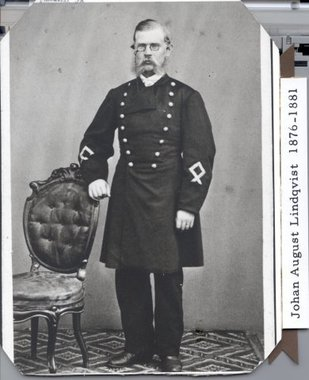 Postmästare i Visby 1876 - 1881