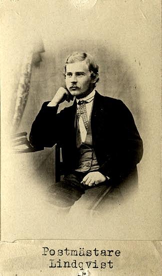 Postmästare i Marstrand 1864