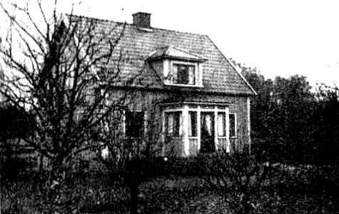 Lövberga 1940-tal - före branden.