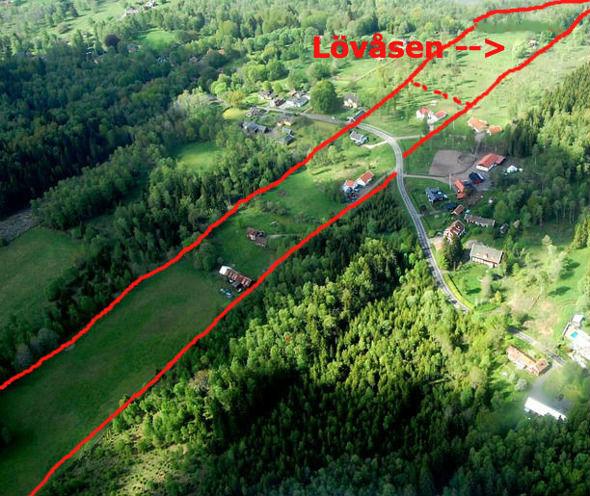Flygfotot skänkt av Leif Crona, 2014 - godkänt för publicering av Försvarsstaben augusti 2014