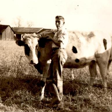 Bild från Carlbergssläkten på Carlberg farm