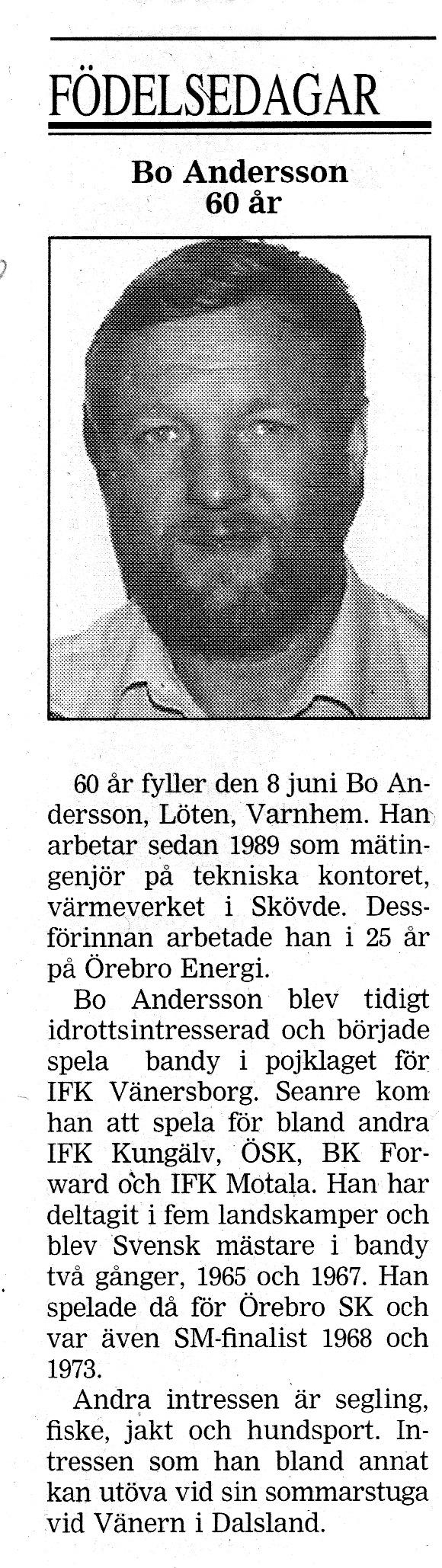 Bo Andersson Löten