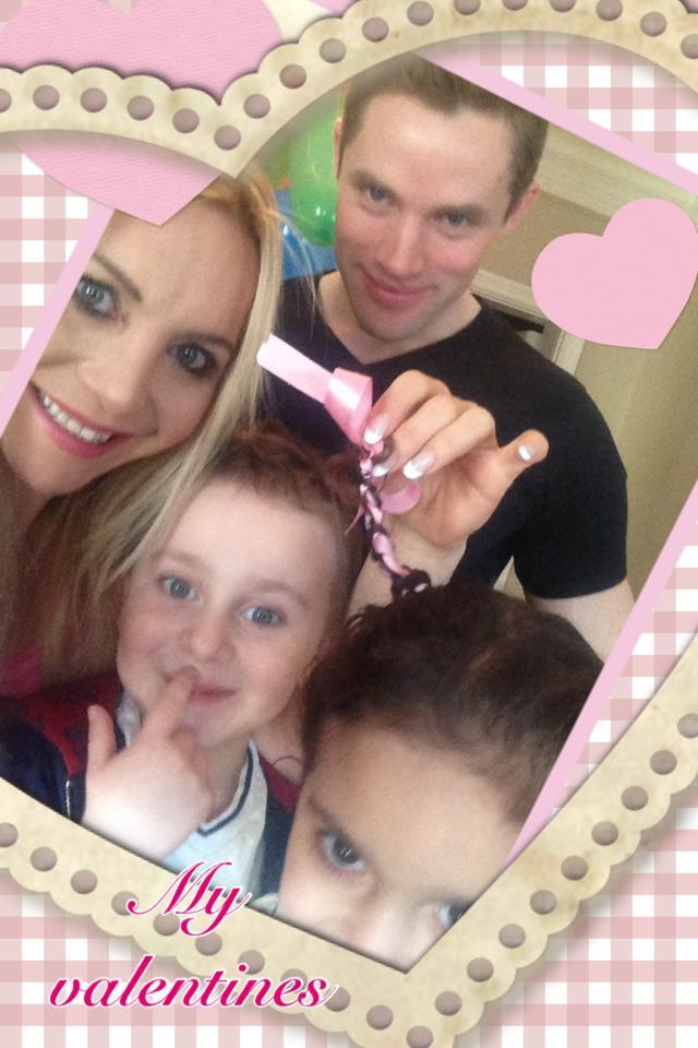 Alla hjärtansdag firade jag med familjen. Dom är mina valentines.