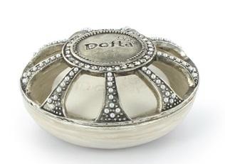 Dofta Doftamulett vit/silver - Dofta Fragrance Amulett vit/silver