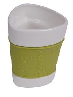 Carl Oscar Porslinsmuggar Trend 2-pack (lime) -