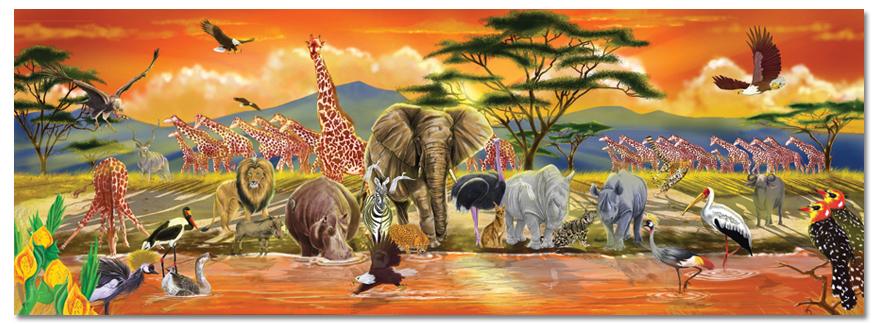 golvpussel - safari