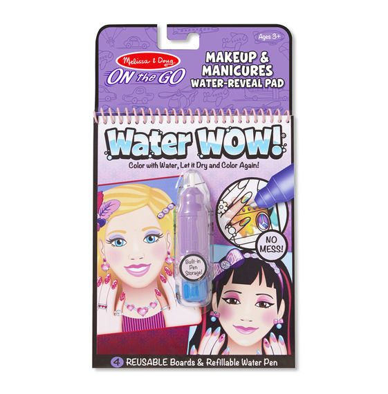 Water WOW makeup and manicures