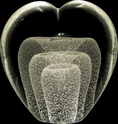 Glasskulptur 3-D 1