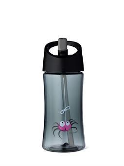 Vattenflaska 0,35 l_Svart_Spider