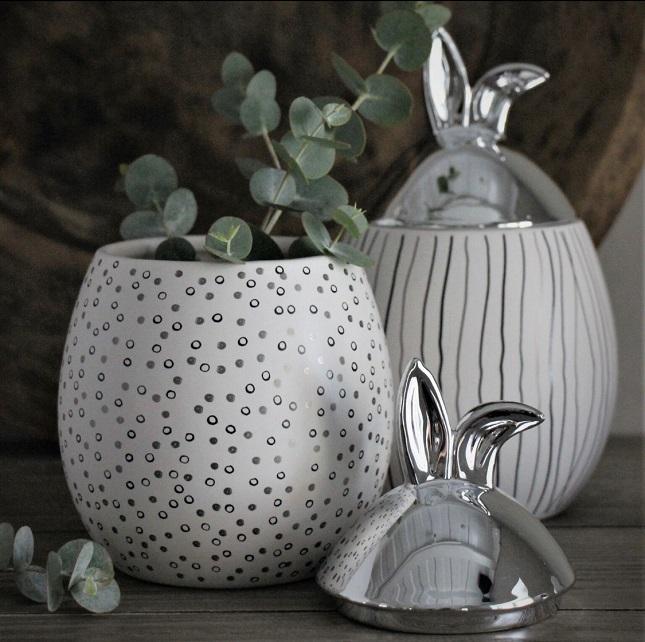 Rabbit jar MC_Stor med silverlock