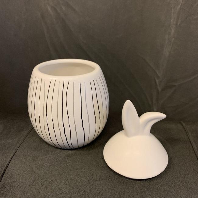 Rabbit Jar - liten - randig