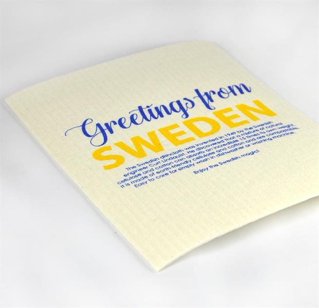 Disktrasa_greetings from Sweden_vit_gul_blå